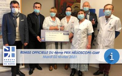 Le projet « biographie hospitalière en soins palliatifs » du GHT de L'Estuaire de la Seine récompensé !