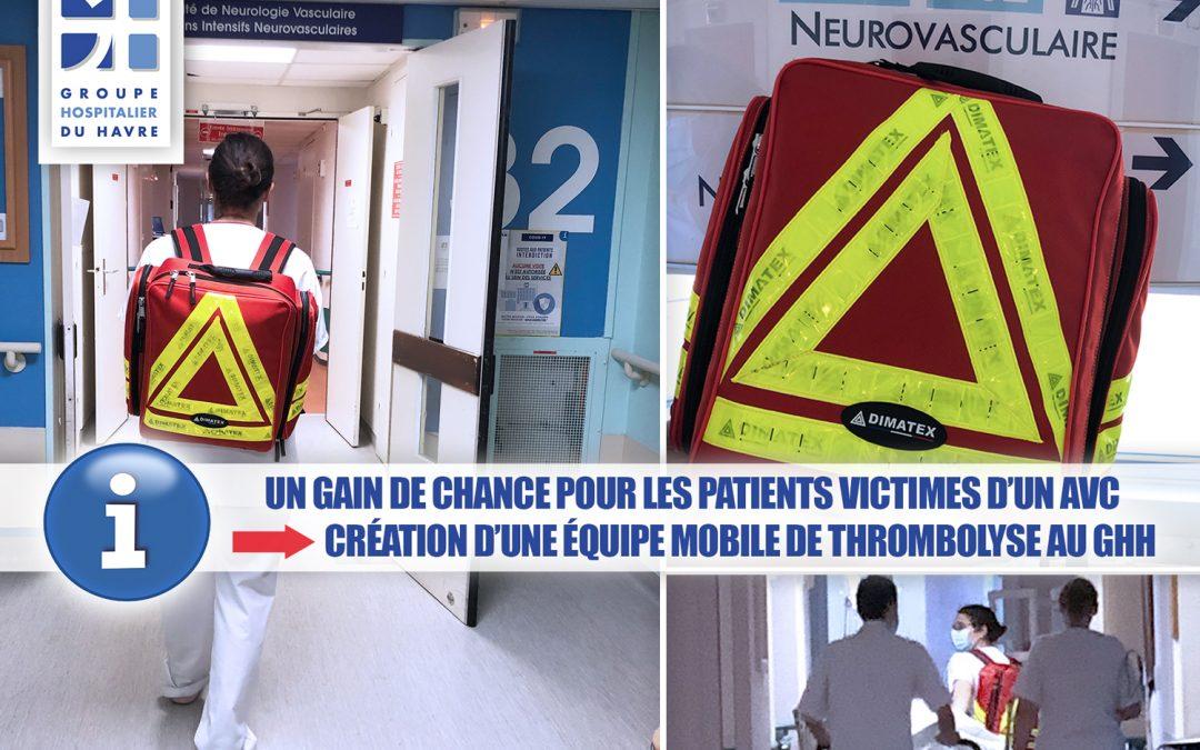 Gain de chance pour les patients victimes d'un AVC : création d'une Equipe mobile de thrombolyse au GHH