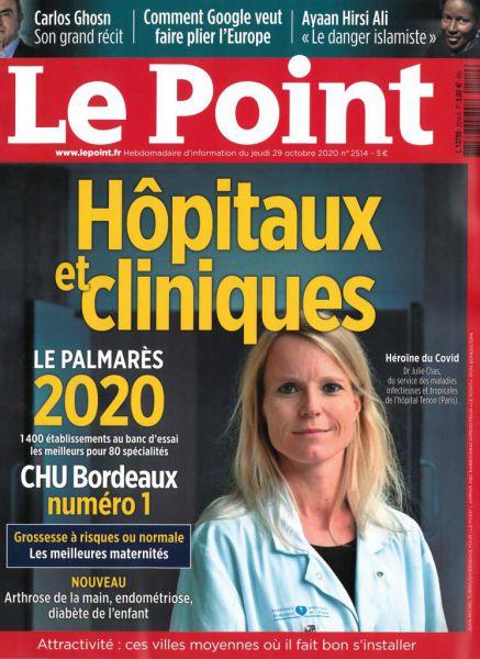 Le GHH classé parmi les 50 meilleurs hôpitaux français dans plusieurs disciplines