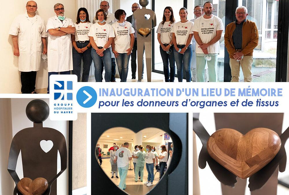 Inauguration d'un lieu de mémoire pour les donneurs d'organes et de tissus