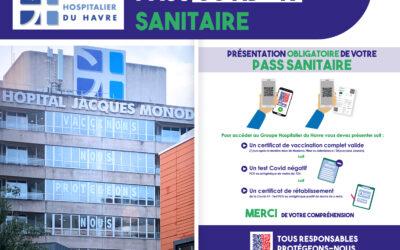 Précisions dans le cadre de la mise en place du Passe sanitaire au GHH