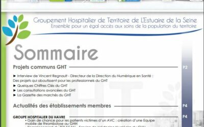 Lettre du GHT de l'Estuaire de la Seine – Septembre 2021