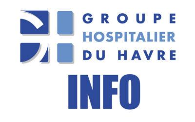 Évolution des consignes de visites dans les services du GHH, à partir de ce jour.